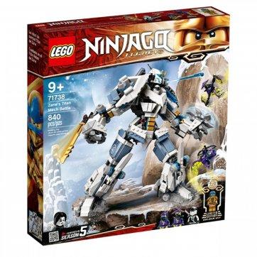 LEGO LEGO NINJAGO ZANE'S TITAN MECH BATTLE 71738