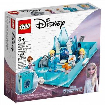 LEGO LEGO DISNEY FROZEN 2 ELSA AND THE NOKK STORYBOOK ADVENTURES 43189