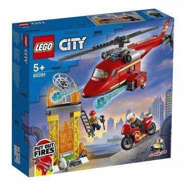LEGO LEGO CITY ΠΥΡΟΣΒΕΣΤΙΚΟ ΕΛΙΚΟΠΤΕΡΟ ΔΙΑΣΩΣΗΣ 60281