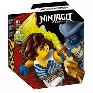 LEGO LEGO NINJAGO LEGACY EPIC BATTLE SET - JAY Vs. SERPENTINE 71732