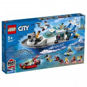 LEGO LEGO CITY POLICE PATROL BOAT 60277