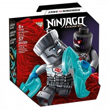 LEGO LEGO NINJAGO LEGACY EPC BATTLE SET - ZANE Vs. NINDROOID 71731