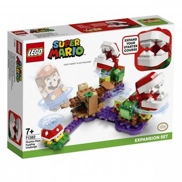 LEGO LEGO SUPER MARIO PIRANHA PLANT PUZZLING CHALLENGE 71382