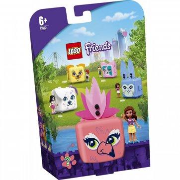 LEGO LEGO FRIENDS ΚΥΒΟΣ ΦΛΑΜΙΝΓΚΟ ΤΗΣ ΟΛΙΒΙΑ 41662