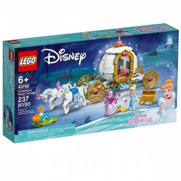 LEGO LEGO DISNEY PRINCESS CINDERELLAS ROYAL CARRIAGE Η ΒΑΣΙΛΙΚΗ ΑΜΑΞΑ ΤΗΣ ΣΤΑΧΤΟΠΟΥΤΑΣ 43192