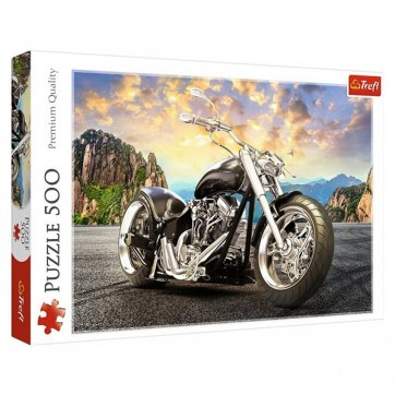Trefl ΠΑΖΛ BLACK MOTORCYCLE 500ΤΕΜ 37384 TREFL