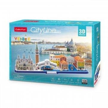 CubicFun ΠΑΖΛ - 3D CITYLINE: VENICE 126ΤΕΜ MC269h