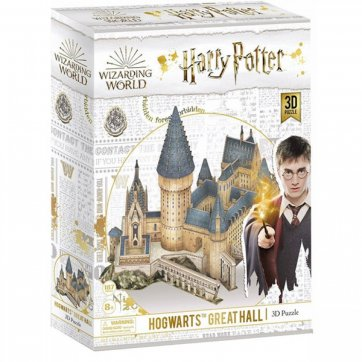 CubicFun ΠΑΖΛ - 3D HARRY POTTER GREAT HALL 187ΤΕΜ DS1011h