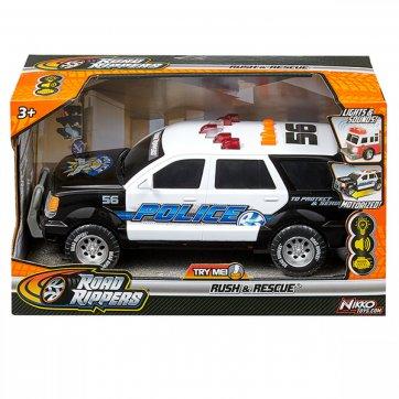 "NIKKO ROAD RIPPERS - RUSH & RESCUE - (12""/30CM) - POLICE SUV"