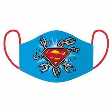 GRAFFITI ΜΑΣΚΑ SUPERMAN ΜΠΛΕ 202903