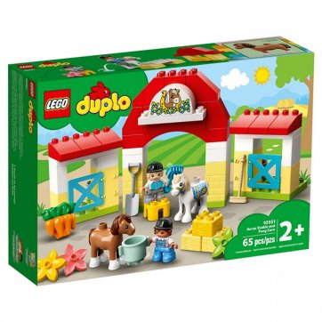 LEGO LEGO DUPLO HORSE STABLE AND PONY CARE 10951