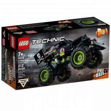 LEGO LEGO TECHNIC MONSTER JAM GRAVE DIGGER 42118