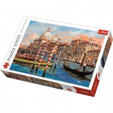 Trefl ΠΑΖΛ AFTERNOON IN VENICE  - CANAL GRANDE 1000ΤΕΜ 10460