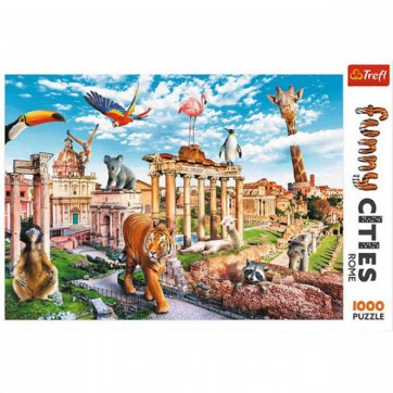 Trefl ΠΑΖΛ WILD ROME 1000ΤΕΜ 10600