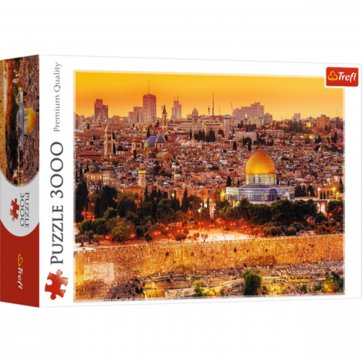 Trefl ΠΑΖΛ - ROOFTOPS OF JERUSALEM 3000ΤΕΜ 33032