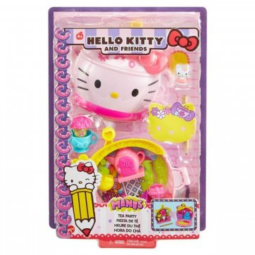 MATTEL GAMES HELLO KITTY AND FRIENDS KITTY CUPCAKE BAKERY COMPACT