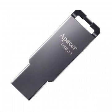Apacer USB FLASH APACER AH360 64GB 3.1 ΜΑΥΡΟ