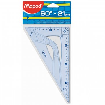 MAPED ΓΕΩΜΕΤΡΙΚΟ ΤΡΙΓΩΝΟ 60º GEOMETRIC 21cm MAPED