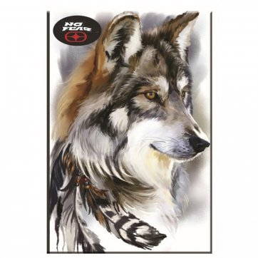 NO FEAR ΤΕΤΡΑΔΙO NO FEAR WOLF - VIDEO GAME 17*25 40Φ 347-85400