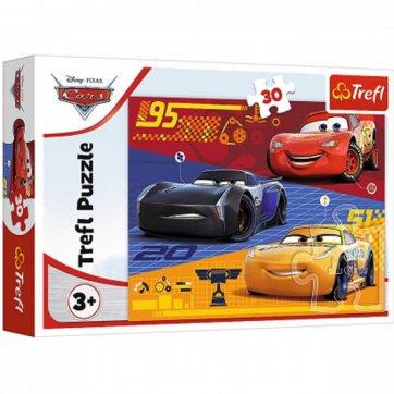 Trefl ΠΑΖΛ CARS BEFORE THE RACE 30ΤΕΜ 18274 TREFL