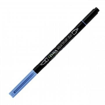LYRA ΜΑΡΚΑΔΟΡΟΣ ΠΙΝΕΛΟ AQUA BRUSH DUO 4mm - 2mm SMALT BLUE 46