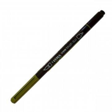 LYRA ΜΑΡΚΑΔΟΡΟΣ ΠΙΝΕΛΟ AQUA BRUSH DUO 4mm - 2mm SAP GREEN 74