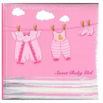 THE PAPERBOX ΑΛΜΟΥΜ ΡΙΖΟΧΑΡΤΟ 30 ΦΥΛΛΩΝ 24x24cm SWEET BABY GIRL