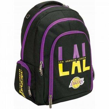 BACK ME UP ΣΧΟΛΙΚΗ ΤΣΑΝΤΑ ΠΛΑΤΗΣ ΟΒΑΛ NBA LOS ANGELES LAKERS 338-92031