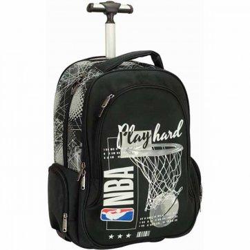 BACK ME UP ΣΑΚΙΔΙΟ TROLLEY NBA PLAY HARD 338-37074