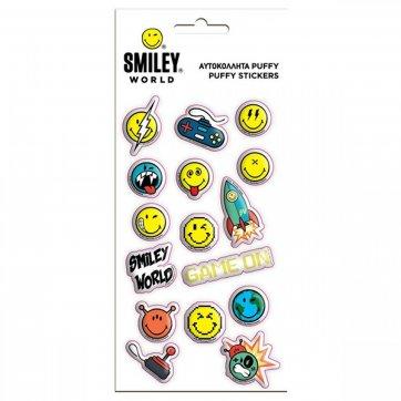 SMILEY ΑΥΤΟΚΟΛΛΗΤΑ PUFFY SMILEY 0504958