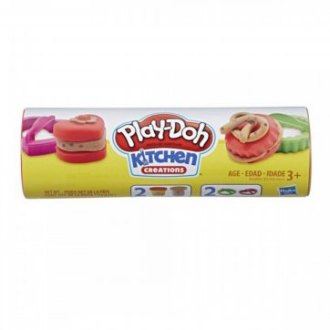 HASBRO PLAY-DOH COOKIE COMPOUND CAN ΜΕ 2 ΧΡΩΜΑΤΑ 819-51000