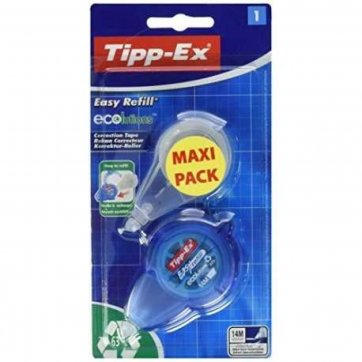 TIPP-EX ΔΙΟΡΘΩΤΙΚΟ ΤΑΙΝΙΑ TIPP-EX EASY REFILL 14M & ΑΝΤΑΛΛΑΚΤΙΚΟ