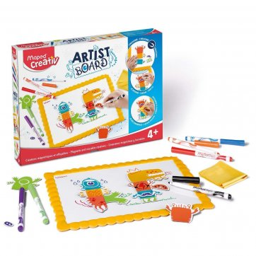 MAPED ARTIST BOARD MAGNETIC AND ERASABLE DRAWINGS MAPED CREATIVE