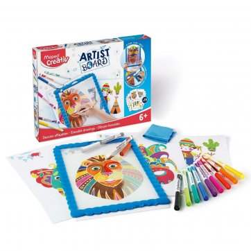 MAPED ARTIST BOARD ERASABLE DRAWINGS MAPED CREATIVE