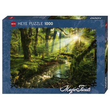 HEYE ΠΑΖΛ 1000τεμ MAGIC FORRESTS - ΚΗΠΟΣ 29771 HEYE