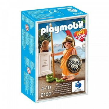 PLAYMOBIL PLAYMOBIL HISTORY ΘΕΑ ΑΘΗΝΑ 9150