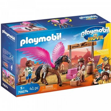 PLAYMOBIL PLAYMOBIL THE MOVIES Η ΜΑΡΛΑ ΚΑΙ Ο ΝΤΕΛ ΣΤΗΝ ΑΓΡΙΑ ΔΥΣΗ 70074