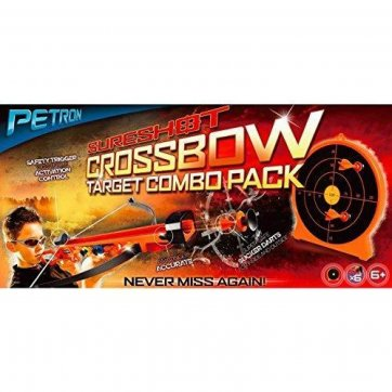 PETRON SURESHOT – CROSSBOW AND TARGET COMBO PACK