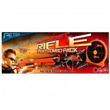 PETRON SURESHOT – RIFLE AND TARGET COMBO PACK