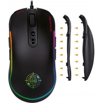 ZEROGROUND ZEROGROUND MS-3500G RGB SAIGO v2.0 GAMING MOUSE