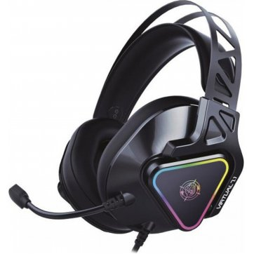 ZEROGROUND ZEROGROUND GAMING HEADRHONES RGB USB 7.1  HD-3000G AKECHI PRO
