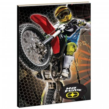 NO FEAR ΤΕΤΡΑΔΙΟ NO FEAR LEOPARD-MOTOCROSS 17*25 40Φ