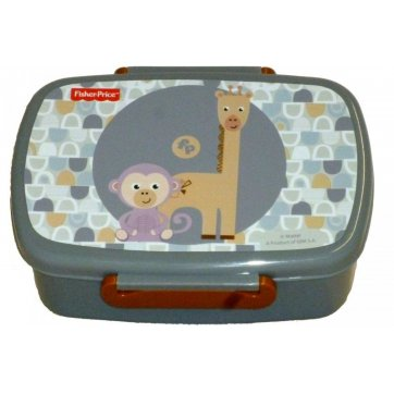 Fisher-Price ΔΟΧΕΙΟ ΦΑΓΗΤΟΥ GIRAF & MONKEY FISHER-PRICE 571-46265
