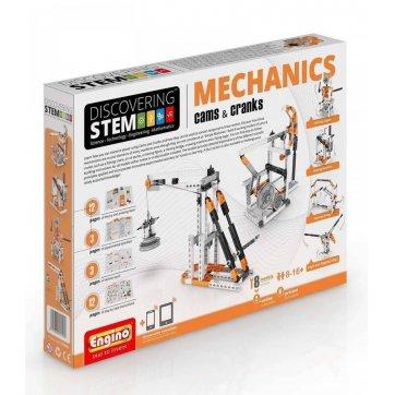 Engino games ENGINO STEM DISCOVERING ΜΗΧΑΝΙΚΗ ΕΚΚΕΝΤΡΑ ΚΑΙ ΣΤΡΟΦΑΛΟΙ STEM04