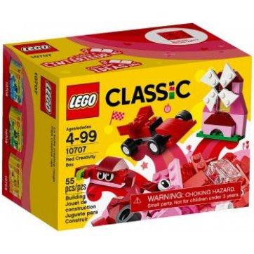 LEGO CLASSIC RED CREATIVITY BOX 10707 LEGO