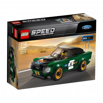 LEGO LEGO SPEED 1968 FORD MUSTANG FASTBACK 75884