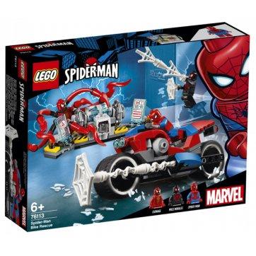 LEGO LEGO SPIDER-MAN BIKE RESCUE 76113