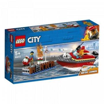 LEGO LEGO DOCK SIDE FIRE 60213