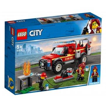 LEGO LEGO FIRE CHIEF RESPONSE TRUCK 60231