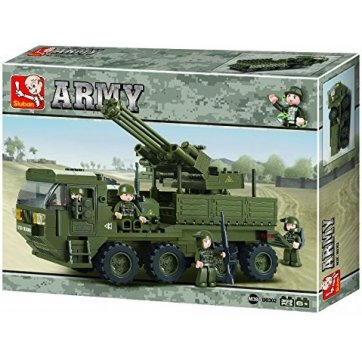 Sluban ARMY B0302 HEAVY EQUIPMENT TRANS